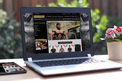 Generation Iron - Woocommerce Store Design & Development